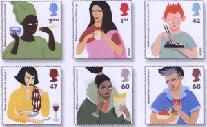 Multicultural stamps