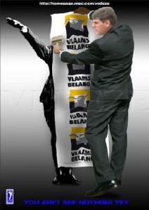 Anti-Vlaams Belang Poster