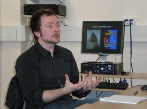 Gavan Titley at the Sussex Centre for Cultural Studies